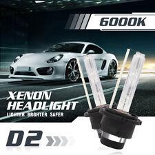 OEM D2S D2C D2R 55W White 6000K HID Xenon Headlight Bulbs Replacement Fog Lamp