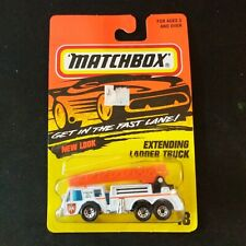 Matchbox Fast Lane #18 Extending Ladder Truck Fire Tyco Toys