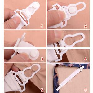 8x lenzuolo coprimaterassi, ganci elastici, coperte, cinghia per clip