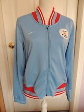 Nike Vancouver 2010 Youth Olympic track Jacket Size L (12-14) baby blue & red