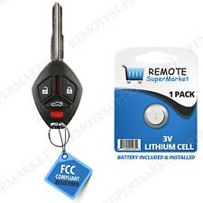 Replacement for 2007-2012 Mitsubishi Galant Eclipse Remote Car Wide Key Fob (Fits: Mitsubishi Galant)