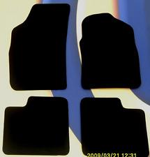 PEUGEOT 307 CC Coupe/Cabrio Qualità Nero Carpet Tappetini Auto con fori di fissaggio B