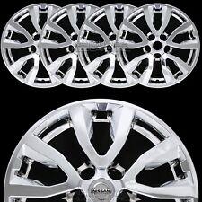 "fits 17-19 Nissan Rogue SV 17"" Chrome Wheel Skins Hub Caps Full Alloy Rim Covers"