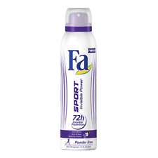 Fa Deodorant Spray Sport Invisible Power (Pack of Two)