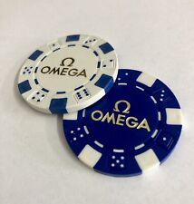 OMEGA Official Poker Chip James Bond 007 Casino Royale Speedmaster Seamaster X 2