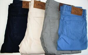 Boys Genuine Ralph Lauren Varick Stretch Cotton Pants Jeans  CLEARANCE