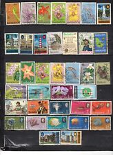 Barbados - Lot Of Early Used Stamps {BAR18}