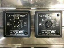TANGO Output Transformer for Vacuum Tube Amplifier FW-50-5 Pair USED From Japan