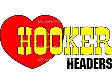 HOOKER Headers Vinyl Decal Sticker 6074