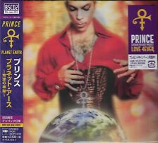 PRINCE PLANET EARTH JAPAN 2019 BLU-SPEC CD2 LMT EDT LENTICULAR COVER ARTWORK
