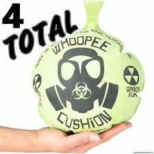 "(4) 10"" MONDO WHOOPEE CUSHION Giant Jumbo Whoopie Maker Gas Joke Fart Noise"