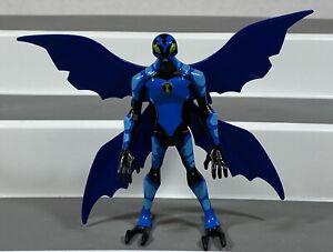 "Ben 10 Alien Force 4"" Big Chill Blue Action Figure Bandai Cartoon Network 2008"