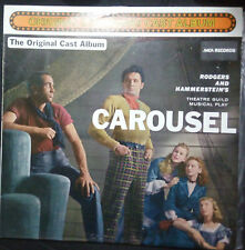 CAROUSEL - BROADWAY CAST RECORDING VINYL LP AUSTRALIA