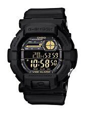 BRAND NEW CASIO G-SHOCK GD350-1B BLACK DIGITAL VIBRATION ALARM WATCH NWT!!!