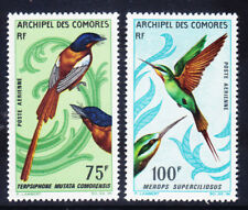 COMORO IS 1967 SG64/5 Air -Birds High values of set lightly mounted mint cat £35