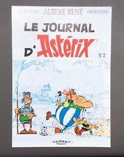 UDERZO. Le Journal d'Astérix. Albert René N°2 1991