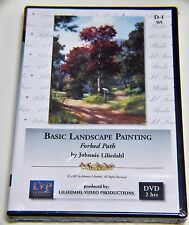 Johnnie Liliedahl: Basic Landscape Painting, Forked Path - Art Instruction DVD