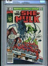 Savage She-Hulk #20 CGC 9.8 White