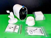 One Arlo Pro 3 2K QHD Wireless Security Camera w battery 2 Mounts & Screws (NEW)