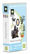 CRICUT *HAPPY HAUNTINGS* HALLOWEEN CARTRIDGE *NEW* PARTY DECOR FONT 3D IMAGES