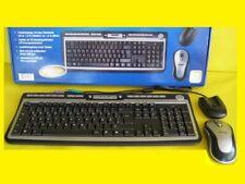 Multimedia Wireless/Wireless Keyboard Slim /16 Schnellzugriffstasten/USB/ Ps/2