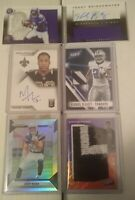 "25 Card BARGAIN Football ""Hot Pack"" Lot Auto PATCH Jersey RELIC Game Used RPA"