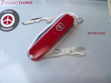 Victorinox Jetsetter Red Original Swiss Army Knife 58128 New! Authentic!