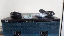 CISCO C3925-VSEC/K9 Gigabt VOICE SECURITY Router PVDM3-64 FULL LICENSE SPE100/k9
