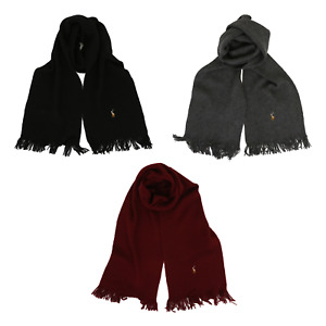 Polo Ralph Lauren Merino Wool Scarf -- 3 colors --