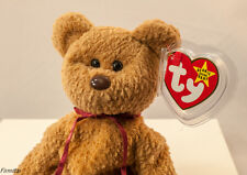 """TY """"Curly"""" Beanie Baby, Retired,  RARE; TAG Errors, PVC , Mint, New, DOB 4/12/96"""