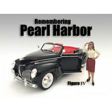 REMEMBERING PEARL HARBOR FIGURE IV FOR 1:24 SCALE MODELS AMERICAN DIORAMA 77475
