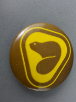 Vintage Parks Canada Pin - Featuring Classic Beaver Logo - Celluloid Pin