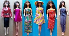 """1970s BARBIE 11"""" mattel doll -- DRESS SKIRT SHOES STOCKINGS SUNGLASSES"""