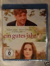 A Good Year [2006] (Blu-ray Region-Free)~~~~Russell Crowe~~~~NEW & SEALED
