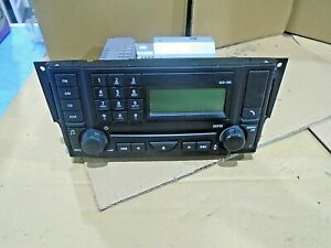 range rover sport discovery 3 stereo radio 6 disk cd player head unit vux500540