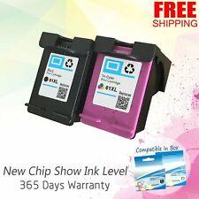 Black & Color Ink Cartridge Combo Set for HP 61XL ENVY DeskJet OfficeJet Printer