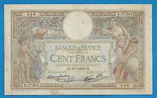 GERTROLEN  Billet 100 FRANCS  Luc Olivier Merson 27-1-1938  B.57294
