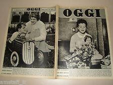OGGI=1954/36=BAMBOLA LENCI=MARIA BEATRICE DI SAVOIA VILLA BOSCOVERDE BOLZANO=