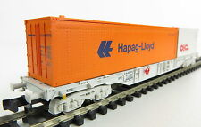 Fleischmann 94 8246 Containertragwagen HAPAG-LLOYD der NS OVP, TOP ! (AW0655)