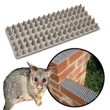 SPIKED FENCE CAPPING FLAT Cat & Possum Deterrent - Safe Low Harm DIY Wall Spikes