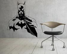Batman Wall Vinyl Decals Dark Knight Sticker Comics Art Removable Decor (6jbat)