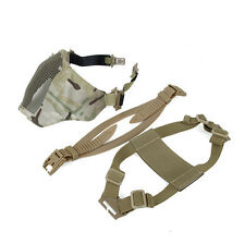 Multicam Quality TMC Airsoft Paintball PDW Soft Side 2.0 Half Face Mesh Mask