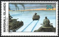 WWII 1941 German Siege of Moscow PANZER TANKS & Armoured Personnel Carrier Stamp