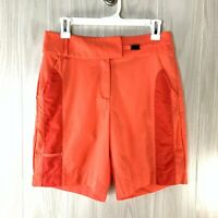 """Tail Golf Shorts Women's Size 6 Coral Inseam 8"""""""