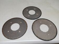 1970s Kohler 18 Hp Twin Cylinder Steel Mesh Fly Wheel Covors 3 Of Them