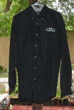 Rare Vintage Chippendales Black Button down Dress Shirt