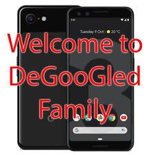 DeGoogled Pixel 3 64Gb - Unlock Verizon Tmobile At&T Graphene Calyxos 4978-78