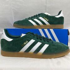Adidas Gazelle Mens Shoes Collegiate Green Cloud White Gum DA8872 Multi Size