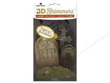 Paper House Halloween 3D Shimmers - Graveyard -#648
