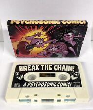 MARVEL COMICS - BREAK THE CHAIN - MUSIC CASSETTE VINTAGE Tape